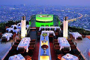 Lebua at State Tower - hotell i Bangkok