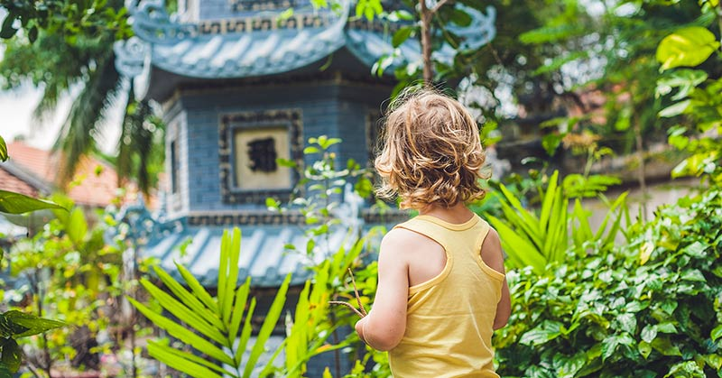 Resa till Bangkok med barn