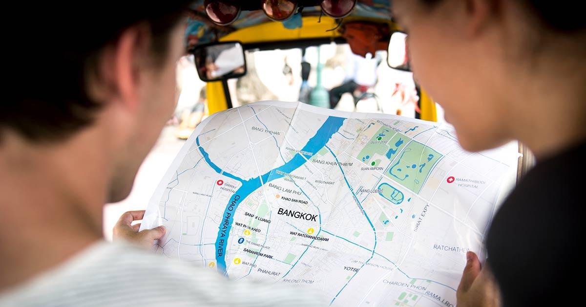 Stadsdelar i Bangkok