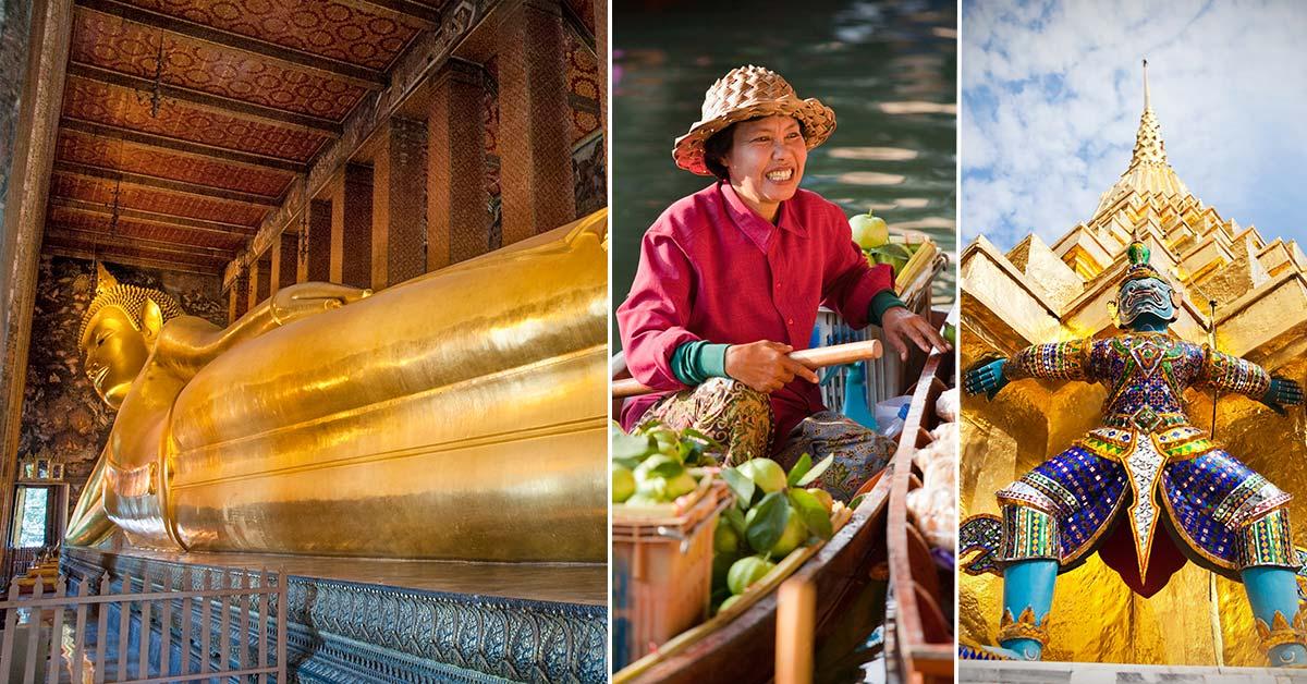 Attraktioner och sevärdheter i Bangkok