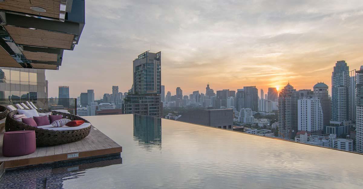 Hotell med pool i Bangkok